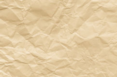 Creased brown paper texture background Royalty Free Stock Photos