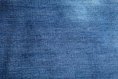Creased denim texture Royalty Free Stock Images