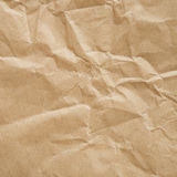 Creased eco paper background Stock Photography
