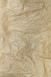 Creased Greaseproof Paper, Detail, vertical Stock Photography