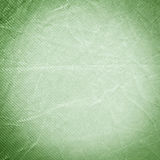 Creased Green Fabric Background Stock Photo