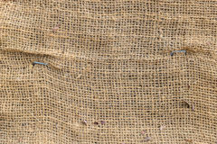 Creased Linen with rough texture Royalty Free Stock Image