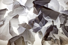 Creased paper background texture Stock Image