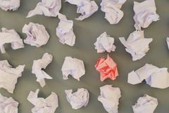 Creased paper Royalty Free Stock Image