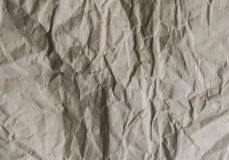 Creased Paper Stock Image