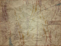 Creased paper with stain effect in dark shade. Creased paper with stain and wood effect in dark shade Stock Photography