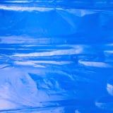 Creased plastic polyethylene film Royalty Free Stock Photo