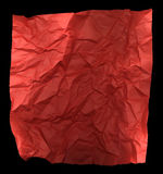 Creased sheet of paper background Royalty Free Stock Photography