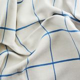 Creased tablecloth cloth Royalty Free Stock Image
