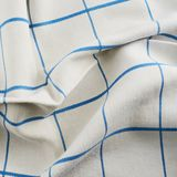 Creased tablecloth cloth Stock Photography