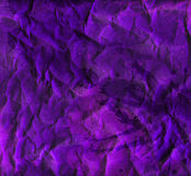 Creased violet wrapping paper texture Stock Image