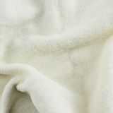 Creased white towel cloth Stock Photo