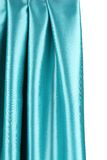 Creases in blue fabric. Royalty Free Stock Photos