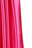 Creases in pink fabric. Close up. Whole background Royalty Free Stock Photography