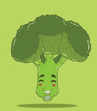 Create Cartoon broccoli Stock Photo