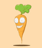 Create Cartoon Carrot Royalty Free Stock Photo