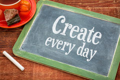 Create every day motivational reminder Royalty Free Stock Photo