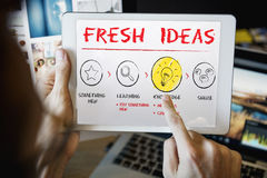 Create Imagination Innovation Inspiration Ideas Concept stock image