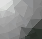 Create polygon. On gray for background Royalty Free Stock Photos