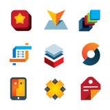 Create startup new innovation internet computer technology logo icon Stock Photo