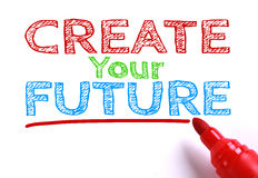 Create your future Stock Image