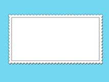 Create your own stamp. A stamp template for customizing Royalty Free Stock Photography