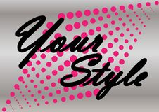 Create your own style. Royalty Free Stock Photography