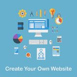 Create Your Own Website Royalty Free Stock Images