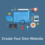Create your own website Royalty Free Stock Image