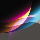 Created colorfull curve abstract background Royalty Free Stock Image
