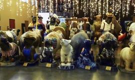 Fiberglass Bears on display at Bear Hotel, Grants Pass, Oregon Royalty Free Stock Photo