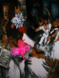 Pink Ballerina Media Art royalty free stock photo