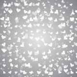 Created pure heart bokeh background Royalty Free Stock Photography