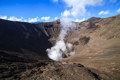 Creater of Bromo volcano, East Java, Indonesia Royalty Free Stock Photography