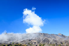 Creater of Bromo volcano, East Java,Indonesia Stock Image