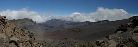 Creater de Haleakala Foto de archivo