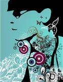 Creatief abstract ontwerp royalty-vrije illustratie