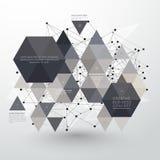 Creatief abstract ontwerp met Websymbolen Royalty-vrije Stock Foto's