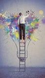 Creatief bedrijfsidee Stock Afbeeldingen
