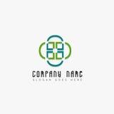Creatief bedrijfssymbool voor uw bedrijf Stock Afbeeldingen