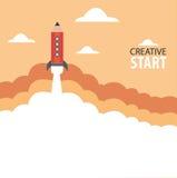 Creatief begin royalty-vrije stock afbeelding