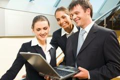Creatief commercieel team royalty-vrije stock foto