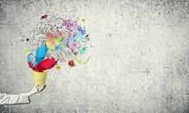Creatief concept Stock Afbeeldingen