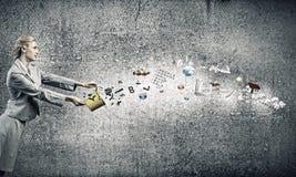 Creatief concept Royalty-vrije Stock Foto's
