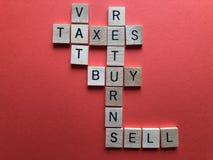 Creatief Concept: Belastingaangiften, Bankwezen en Financi?n royalty-vrije stock foto