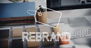 Creatief de Identiteit van het Ontwerpmerk Marketing Concept royalty-vrije stock afbeelding