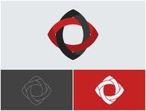 Creatief embleemontwerp Minimalisticelement eenvoudig Stock Foto's