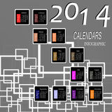 Creatief Gelukkig Nieuwjaar Royalty-vrije Stock Foto