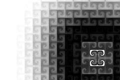 Creatief gestileerd geruit patroon als achtergrond Royalty-vrije Stock Foto