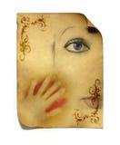 Creatief gezicht Royalty-vrije Stock Afbeelding